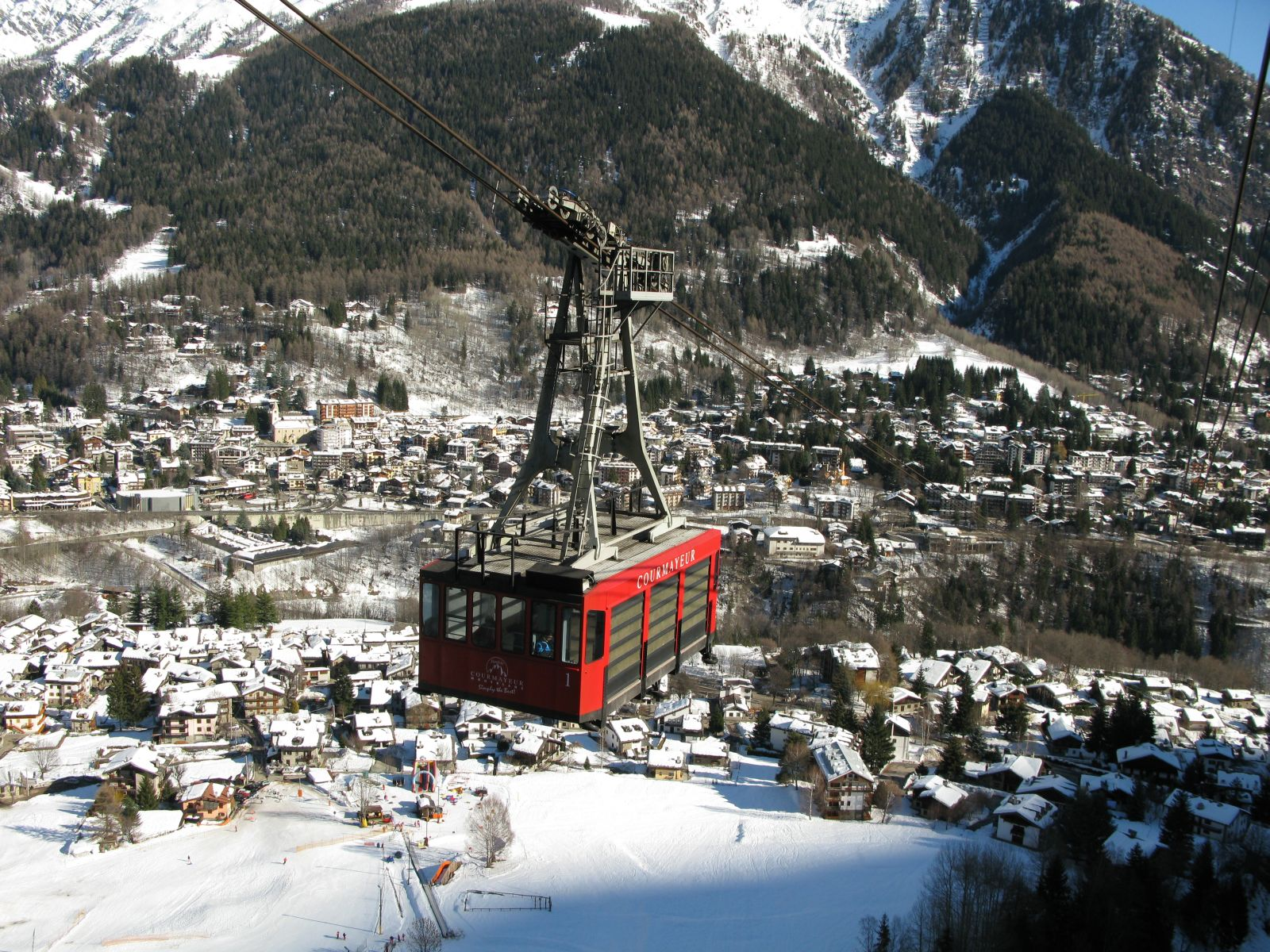 Courmayeur Aosta Valley Tourist Information