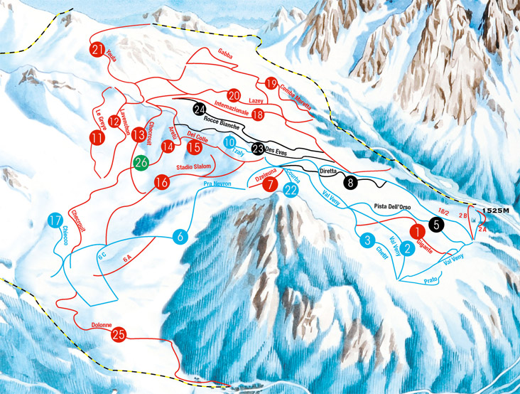 Courmayeur Ski Lifts Ski Passes Schedules and Prices