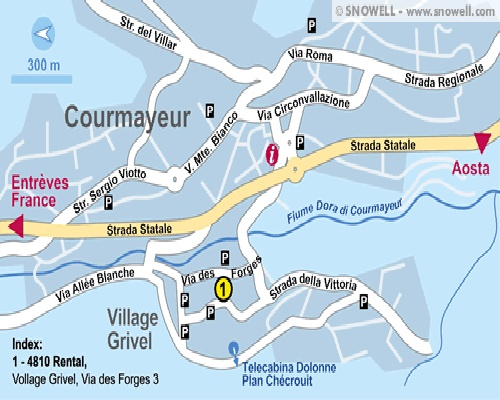 Courmayeur Maps Find Your Way In Courmayeur Town