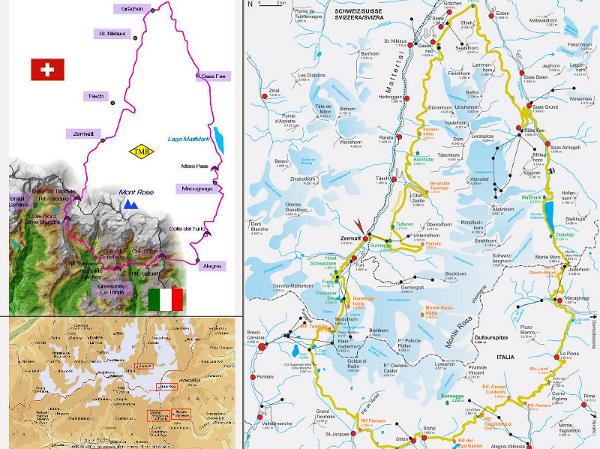 Monte Rosa Tour in Courmayeur Aosta Valley Lovecourmayeurcom