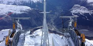 Courmayeur: Cable Car Opening 2015