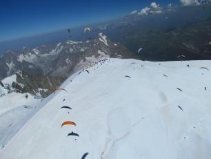 Mont Blanc Paragliding