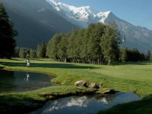 Golf near Courmayeur: Golf courses near Aosta Valley