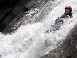 Canyoning in Courmayeur / Aosta Valley