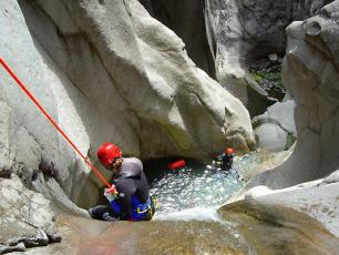 Canyoning in Courmayeur
