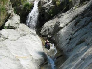 Courmayeur and the Aosta Valley canyoning