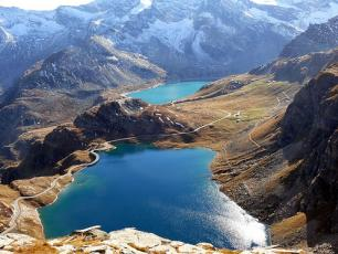 Gran Paradiso National Park views