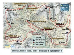 The race: Grand Trail Valdigne