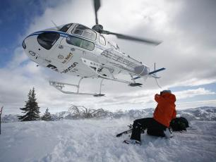 Heli Skiing in Courmayeur / Aosta Valley