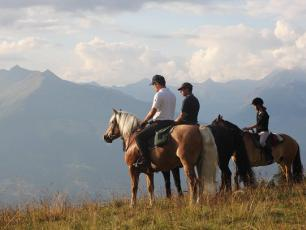 Horse Riding in Aosta Valley