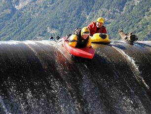 Hydrospeed in Courmayeur - Mont Blanc, Aosta Valley