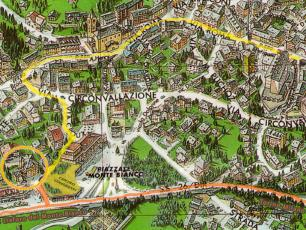 Courmayeur Italy Map