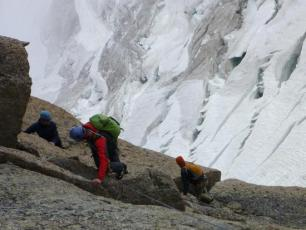 Rock Climbing in the Mont Blanc Massif