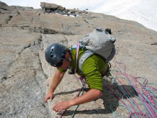 Rock Climbing the Mont Blanc Summit