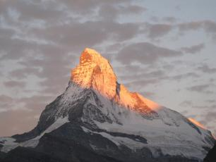 The Cervin / Matterhorn and dawn