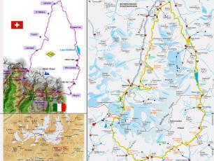 Monte Rosa Tour Maps