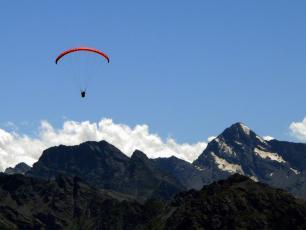 Paragliding Aosta
