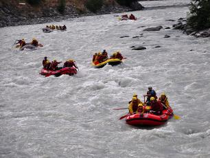Rafting in Courmayeur, Mont Blanc & Aosta Valley