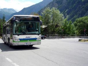 Savda Bus - Transport inside Aosta Valley