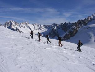 Ski Touring / Mountaineering Trips & Routes in the Aosta Valley