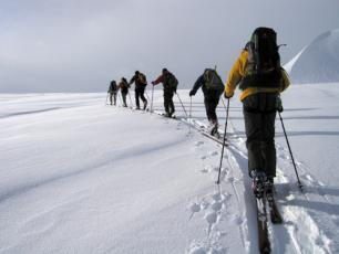 Ski touring in Courmauyeur and Aosta Valley