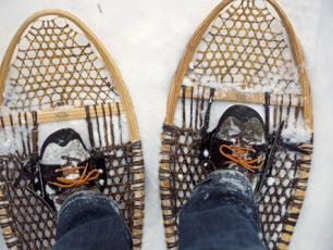 Snowshoeing in Courmayeur and the Aosta Valley