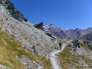 Tor des Géants - part of the path