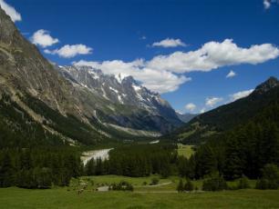 Val Veny landscape