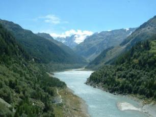 Valgrisenche landscape
