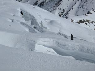 Ski in the middle of glaciers and seracs... Vallée Blanche