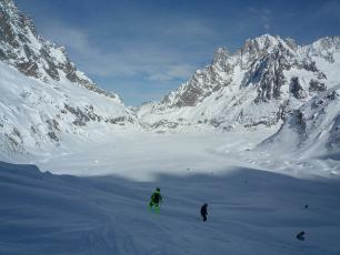 Ski the Vallée Blanche in the Mont Blanc area