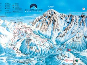 Courmayeur ski slopes